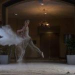 Dance photography with flour