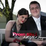 prom photography ideas couple sitting under gazebo