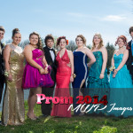 prom photography ideas group shot at park