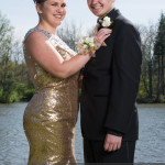 prom photography ideas couple using strobe