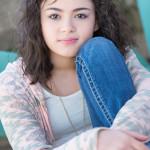 Indianapolis Senior Photographer | Alicia Images | bent knee