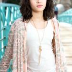 Indianapolis Senior Photographer | Alicia Images | bridge standing