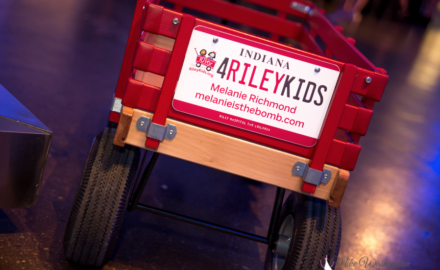 Ball State Alumni Riley Dance Marathon wagon