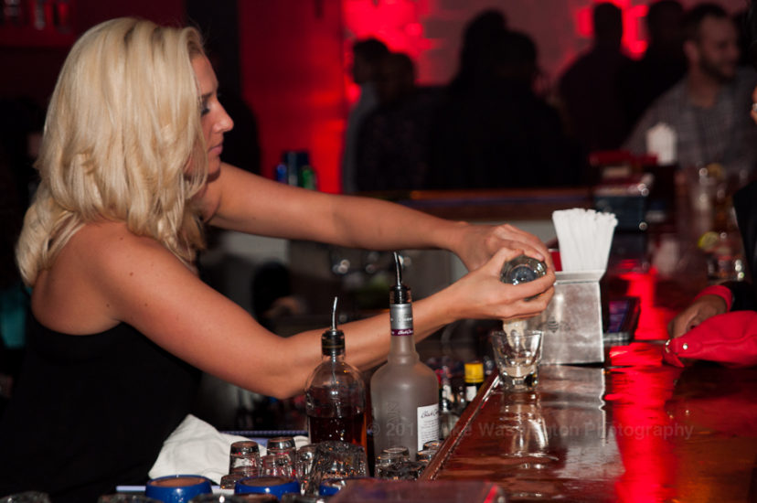 Buda Lounge party-goers